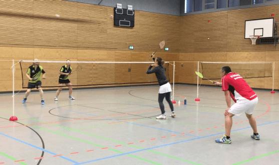 gemischtes doppel badminton regeln